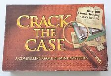 "MILTON BRADLEY ""CRACK THE CASE""  BOARD GAME 1993 RARE"