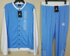 NIKE JORDAN XI RETRO 11 SUIT JACKET + PANTS UNC CAROLINA BLUE RARE (SIZE MEDIUM)