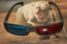 dgoodthings SALE:anaglyph red/cyan(red/blue)3D glasses(hard plastic)