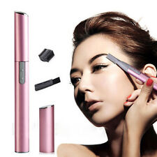 Electric Eyebrow Trimmer Men Women's Lady Face Hair Shaver Remover Razor
