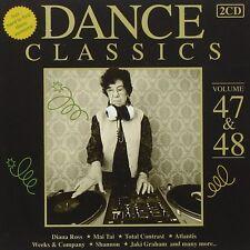 DANCE CLASSICS 47 & 48 (PAUL PARKER, SKYY, LOVECLUB, MAI TAI,...) 2 CD NEU