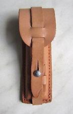 DDR Magazintasche kpl. Leder für Pistole M74/ 7,65 mm Holster und Gürtel Top!