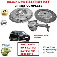 FOR FORD KUGA Mk I 2.0TDCi 4x4 2009-2012 BRAND NEW 3-PIECE CLUTCH KIT SET + CSC