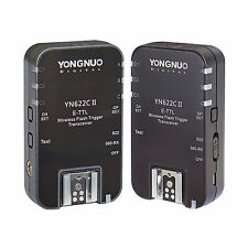 NEW Yongnuo Updated YN-622C II HSS + TTL Wireless Flash Trigger 1/8000 for Canon