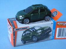MATCHBOX FIAT 500X vert Corps Jouet Voiture Modèle Boxed 66 mm