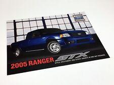 2005 Ford Ranger STX Preview Brochure