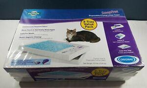 PetSafe ScoopFree Litter Tray Refills - 3-Pack Premium Blue Crystals
