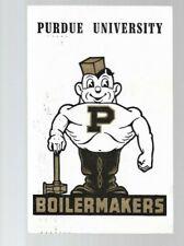 pk46087:Postcard-Purdue University Boilermakers Mascot