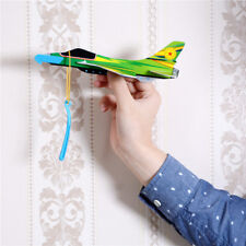 Funny Stretch Flying Glider Planes DIY Assembly Model Educational Toys KY