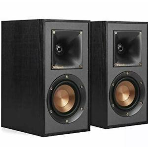 Klipsch R-41M 2-Way Bookshelf Speakers (Pair) - BLACK (2 Speakers