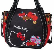 Hello Kitty 2Way Mini Tote Bag Shoulder Purse Handbag Sanrio Japan Gift B5622