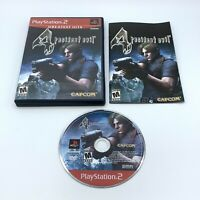 Resident Evil 4 (PlayStation 2, 2005) PS2 Complete With Manual CIB