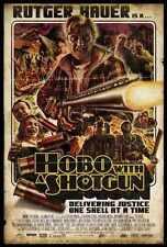 Hobo With Shotgun Poster 01 Metal Sign A4 12x8 Aluminium