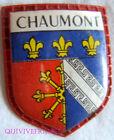 BG5885 - PATCH ECUSSON BLASON VILLE DE CHAUMONT
