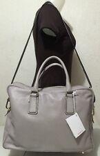 NWT Arbo Genuine Leather Gray Messenger Bag