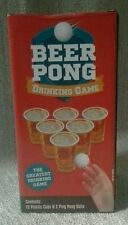 Beer Pong Set The Great Drinking Game- Cool Gift for Parties