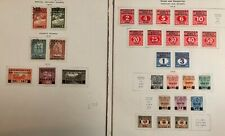 Yugoslavia #B1-2,5-7,E1-2 & Postage Due Stamps MH/Used