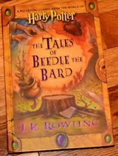 JK Rowling Harry Potter The Tales of Beedle the Bard 1st Edition 2008 BRAND NEW!