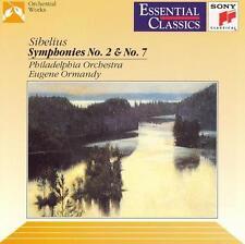 Sibelius: Symphonies 2 & 7, , Good