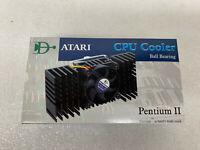 ATARI INTEL Pentium 2 CPU Cooler Fan with Heatsink BRAND NEW