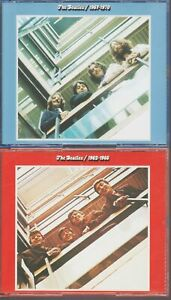The Beatles 1962-1966 / 1967-1970 Cd Red + Blue Best Of Greatest Hits