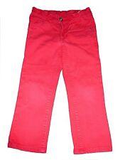 H & M tolle Jeans Hose Gr. 98 rot !!