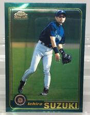 2001 Topps Chrome Traded Ichiro Suzuki Rookie RC Mariners #T266