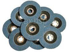 Paquete De 10 36 Grit 115 X 22mm aleta disco de circonio Arena Nuevo