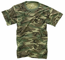 Camouflage Camo Army Military T-Shirts Tees Tee Shirts