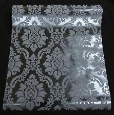 08521-60) hochwertige BLACK BAROCK Tapete Vinyltapete zum SONDERPREIS