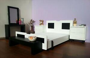 Bedroom Diorama Set,1:6 Scale,Dollhouse Furniture Handmade,Fashion Royalty Style