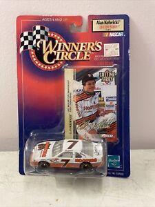 Alan Kulwicki 1998 Hooters #7 Winners Circle 1/64 Scale  Lifetime Series NASCAR