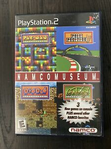 Namco Museum Ps2 *CASE & MANUAL ONLY*