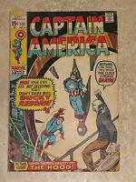 CAPTAIN AMERICA #131 Gene Colan Silver Age Marvel Comics 1970 FN/VFN