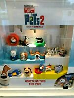 Mcdonalds The Secret Life of Pets 2 Toy Characters Happy Meal UK 2019 Various