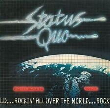 STATUS QUO Rockin' All Over The World Vinyl Record LP Vertigo 9102 014 1977 Orig