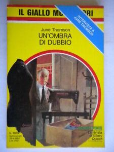 Un'ombra di dubbioThomson JuneMondadorigiallo1839rudd boyce shires nuovo