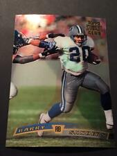 1997 St. Club Jumbo Redemption Week #15 Barry Sanders Detroit Lions
