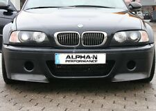 Alpha-N BMW e46 CSL Design pare-chocs Carbon 2-trou