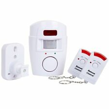 Motion Sensor Alarm with Remotes Stop Intruders Alert Sound  Scare Away Burglars