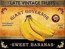 Sweet Bananas steel fridge magnet    (na)
