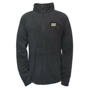 Caterpillar Concord Fleece Sweatshirt - Unisex - CAT Sweatshirt - Jacket 1/4 Zip
