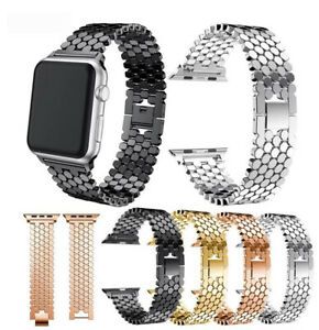 Stainless Steel Metal Replacement Strap Smart Watch Band for Fitbit Versa 1 2