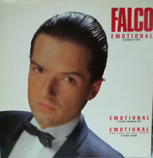 """FALCO - EMOTIONAL 12"""" MAXI SINGLE SPAIN PROMOTIONAL 1987 EXCELLENT CONDITION"""