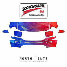 GMC Sierra 1500 2016-2018 PreCut 3M Scotchgard Paint Protection Clear Bra Kit