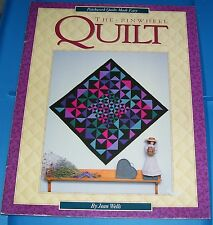 1992 THE PINWHEEL QUILT PATTERN BOOK SOFTCOVER OOP BY JEAN WELLS