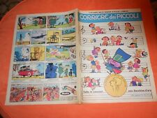 CORRIERE DEI  PICCOLI     NR 15   1962 con  INSERTO REGIONI  e  zecchino d'oro