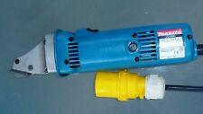 Makita JS1660 1.6mm Shear snips 110v cuts superb VGC