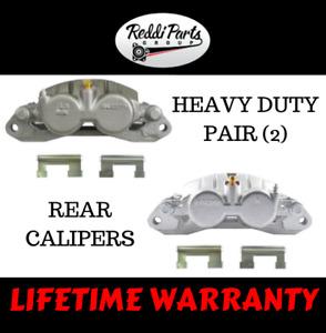Rear Disc Brake Caliper Pair Set LH & RH Sides for Silverado Sierra 3500