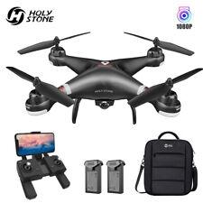 Holy Stone RC GPS Drohne mit 1080P FPV HD Kamera Quadrocopter 2 Akkus Anfänger